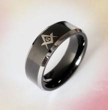 wholesale tungsten carbide material masonic rings in cheaper price fast ship