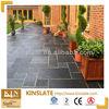 Kinslate Natural black slate bathroom tile design/patio pavers