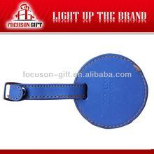 Newly fashion leather luggage tag strap