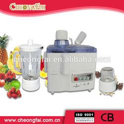 3 in 1 Juicer/Blender/Grinder Glass Electric Mini Fruit Juicer