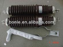 11KV porcelain gapless zinc oxide lightning arrester