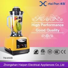 Restaurant equipment commercial blender mixer automatic smoothie maker