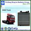 High Performance Heavy Duty Truck Radiator Manufacturer