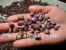 Natural Ruby (corundum) rough cabochon quality available in tons of quantity and the wholesale price US$ 59 per Kg