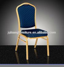 Metal Restaurant Dining Upholstered Chair