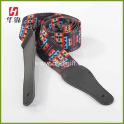 2014 Customized heat transfer printing guitar strap