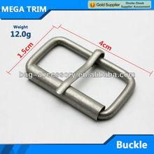 Metal belt buckle for Men reversible pin buckle make in guangzhou