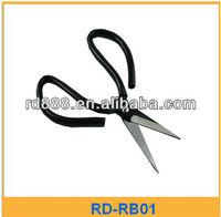 Industrial, Rubber Handle Scissors Cutting leathers fabrics Threads electric scissors