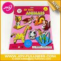 3D animal arte de papel - niños kit