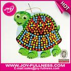 Diy turtle adhesive foam art & educational toy kids mosaic craft for kids