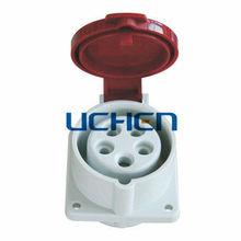 3P+N+E 16a industrial IEC socket