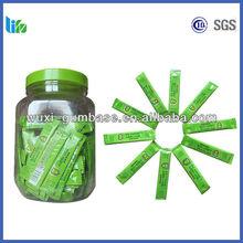 Hot selling plastick gum yogurt chewing gum pellet