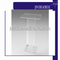 High Quality Acrylic Lecture Stand,Perspex Speech Table