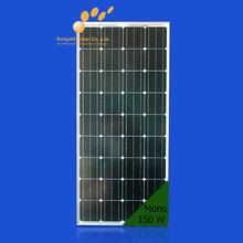 Hot sale cheap price 150w mono solar panel in china