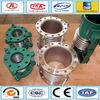Circular flange connection steel corrugated compensator