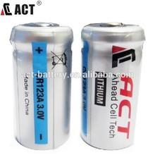 Discount 3 Volt 1500mAh LiMnO2 123 Batteries 3V Lithium Battery CR123A Battery