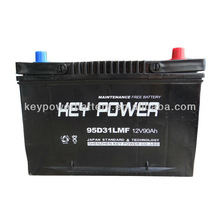 12V starting Dry and MF Car Battery price Auto battery