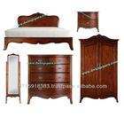 Furniture Classic Olivia Bedroom Set - Mahogany Bedroom Furniture Indonesia
