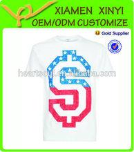China Factory Custom Cheap Screen Printing Fashion T Shirt