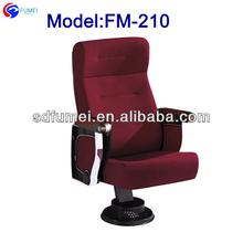 FM-210 High grade music hall chair with food pad