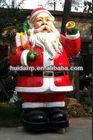 2014 HUIDA New style outdoor fiberglass christmas decoration - santa claus