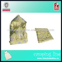 SLE00052 Crochet Baby Sleeping Bag With Animal Pattern