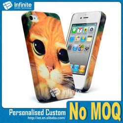 NO MOQ Case! Custom Sublimation Case For iPhone 4