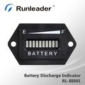 12v 24v 36v 48v 72v led de carga de la batería indicador de descarga para el ácido de plomo de almacenamiento de la batería del coche de carros de golf del fabricante de china