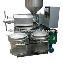 CY-172A Combined oil expeller price/Auto Control coconut oil press machine