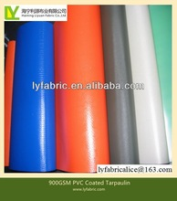 900gsm pvc coated tarpaulin Fabric with Acrylic surface treatment for high speed door