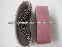 sanding belt 75*457mm,color card or shrink packing