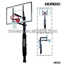 "Inground Adjustable Basketball Stand with 54"" PC Backboard MK023"