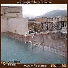 Bamboo Wood Floor Decking For Veranda