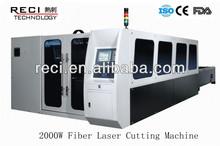 2000W,1000W ,500W Fiber Laser Cutting Machine for Metal Sheets