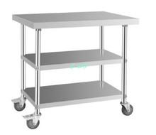 metal desk for kitchen of university