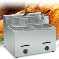 Gás fritadeira/kfc frango fritar máquina/fritadeira donut bn-72