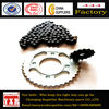Chain sprockets for cg125,motorcycle parts manufacturers,forging process motorcycle chain sprocket