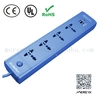 Germany discount hot sale Surge protector power strip 3 4 5 gang way outlet Extension lead