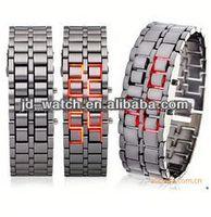 led lava watch iron samurai style for men