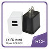universal 2.1A dual USB wall charger