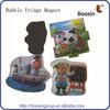 Fashion Design Resin 3D Fridge Magnet