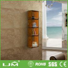 stainless steel bathroom corner