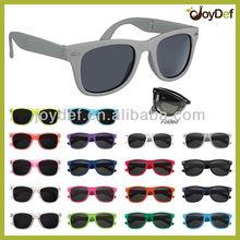 Promotional Custom Folding Wayfarer Sun glasses OEM Foldable Eyewear