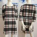 nueva red de mujeres más vestidos casuales tragar ciñe vestido de diseño 2014