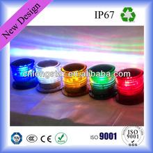 Hot Sale Different Colors Solar Obstruction Light