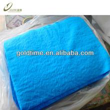 blue custom chamois cleaning cloths