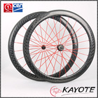 aero spoke bike wheel 700C Depth 50MM Width 23mm china high quality Road Bike Carbon Clincher wheels aero spoke wheel
