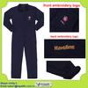custom work uniform dark blue cotton coverall for men