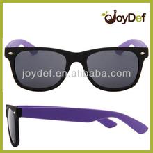 Variety of Classic Safari Style Dark Lens Wayfarer Matte Sunglasses