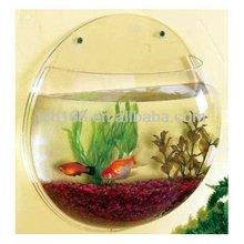acrylic aquarium,acrylic wall mount fish bowl